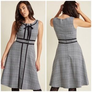 Liza Luxe for ModCloth Houndstooth Dress